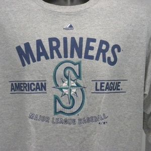 Majestic Large Seattle Mariners MLB T-shirt
